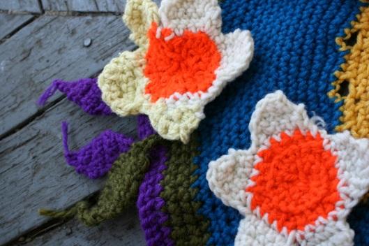 Flower Rug Detail
