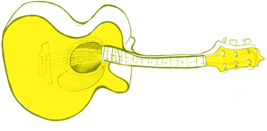 IMBS guitar illustration