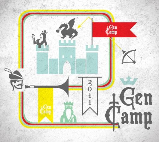gen camp 2011 logo