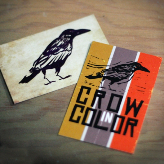 Crow In Color business card