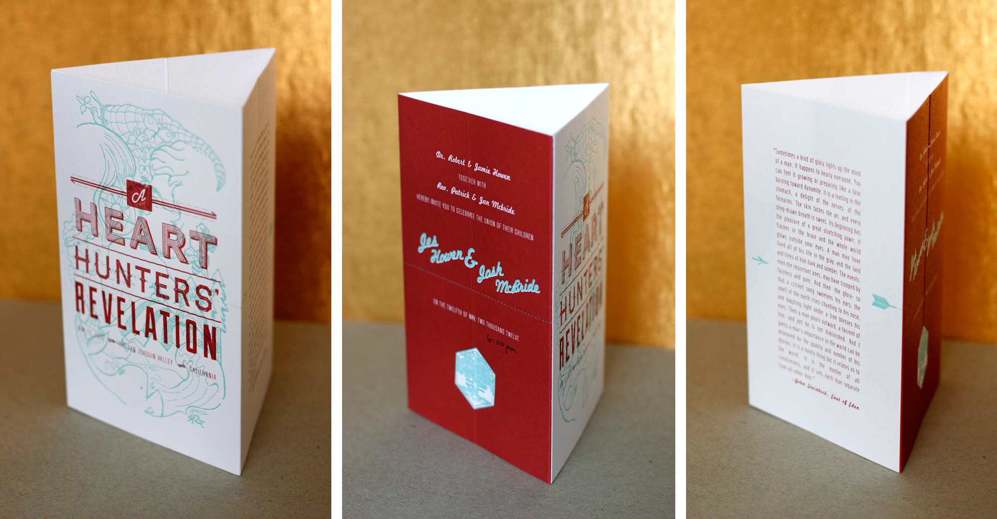 wedding invitation   emilymade
